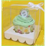 Bautismo-cumpleaños Original Cupcake Toalla En Caja X10 Unid