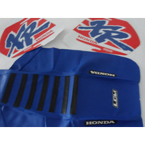 Kit Calcos + Funda Asiento Gripp Honda Xr 600, Xr600, Xr600r