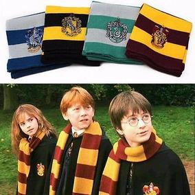 Cachecol Harry Potter Casas Unissex No Brasil Pronta Entrega