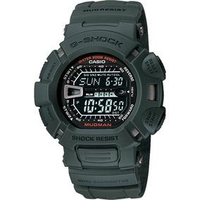 Relogio Casio G-shock G-9000-3vdr Resist. Lama Mudman Pt