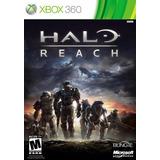 Halo Reach Xbox 360 Fisico Original Sellado En Español