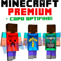 Minecraft Premium Original + Capa Optifine 100% Modificable!