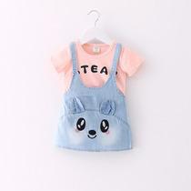 Vestidos Para Bebé Niña - Conjuntos Bebitas Overol Conejo