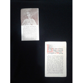 Lote 2 Folletos Religiosos Década 1930 Impecables $90
