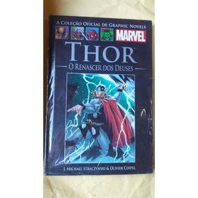 Hq Marvel Salvat Capa Preta - Thor O Renascer Dos Deuses