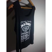 Regata Feminina Jack Daniels + Brinde + Frete Grátis