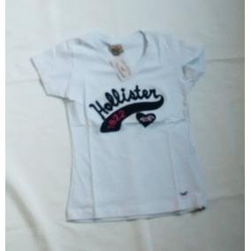 Camiseta Femenina Hollister