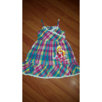 Bello Vestido Princesas Disney Talla 3-4.
