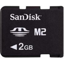 Memoria Sandisk 2gb Memory Stick Micro M2 Venta O Cambio