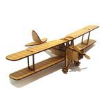 Mini Avião Do Pequeno Príncipe - Mdf Crú - Corte A Laser