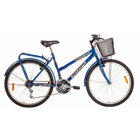 Bicicleta Mountain Bike Paseo Halley 19149 Mujer Dama Cambio