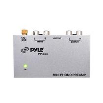 Pre Amplificador Phono Para Toca Discos Vinil Pyle Pp 444