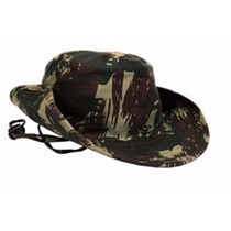 Chapéu Camuflado Gorro Redondo Boné De Selva Estilo Militar