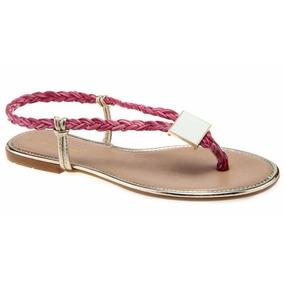 Rasteirinha Primavera Verão Sapato Feminino
