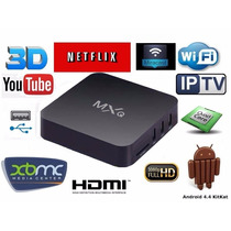 Smart Tv Box Android 4.4 Quadcore Netflix Youtube Hdmi Wi-fi