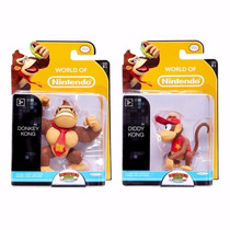 World Of Nintendo Dtc - Donkey Kong & Diddy Kong