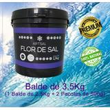 Flor De Sal Produzida No Brasil (3,5kg)