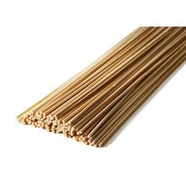 Vareta De Bambu 45 Cm P/ Pipas Gaiolas C/ 100