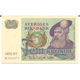 Billete De Suecia