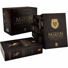 Box As Crônicas De Gelo E Fogo - 5 Livros- Guerra Dos Tronos