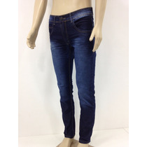 Jeans Masculino Calça Boca Justa Elastano Oferta Imperdivel