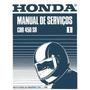 Manual De Serviços Honda Cbr 450 Sr 89 90 91 Pdf + Brindes