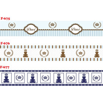 Adesivo Decorativo Parede Infantil Faixa Border Papel +500ex