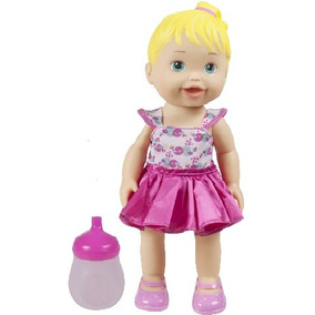 Boneca Baby My Little Collection Alive Faz Xixi - Divertoys