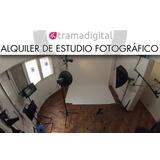 Estudio Fotografico Alquiler Las 2 Hs $ 400. Con Equipos