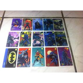 Cartãos Coleções: Batman, L.j, Mulher Gato E 4 Fantástico