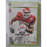 Video Juegos Xbox 360 Ncaa Football 09 Original #a345