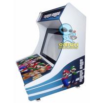 Raspberry Kit Gabinete Bartop Fliperama Arcade Ou Hyperspin