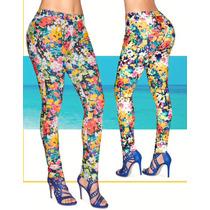 Pantalon Stretch Multicolor Fashonline 957-77 Cklass