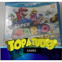 Super Mario 3d World Jogo Wii U Seminovo Garantia Loja Bh!!!