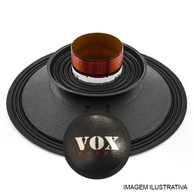 Kit Reparo Alto Falante 12pol Vox Sound Vx12 750 W Rms 8ohms