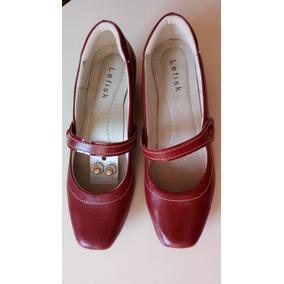 Sapato Vermelho Com Brinde Modelo Boneca