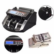 Máquina Contadora De Billetes Automática, Detector Uv Y Mg