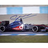 Fotografia Autografiada Sergio Checo Perez F1 Formula 1