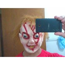 Mascara Chucky Terror Latex Enviamos Para Todo O Brasil