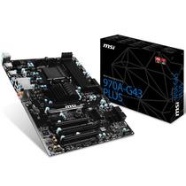 Motherboard Msi Msi 970a-g43 Plus Am3+ Usb 3.0 Sata3 Envio