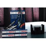 Kit Bosch Bobina Encendido, Cables Y Bujias Vw Gol Trend