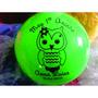 Bolas Personalizadas Lembrancinhas Aniversários Kit Com 30