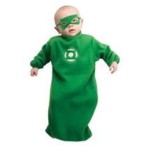 Disfraz Niño Traje De Bebé Bunting Green Lantern Hal Jordan