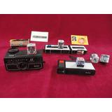 Lote Maquinas Fotográficas Kodak Minolta Pocket E Instamatic