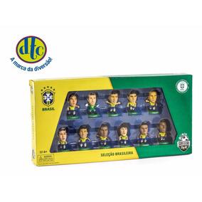 Jogadores Da Seleção Brasileira Kit C/11 Bonecos - Dtc
