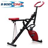Bicicleta Fija Abdominales 2 En 1 B Body Toner Ejercicios
