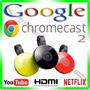 Chromecast 2 Hdmi Edição 2016 Original 1080p Google