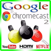 Chromecast 2 Google Chrome Cast Hdmi -1080p - Novo Original
