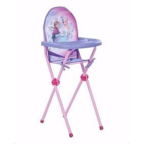 Cadeira Cadeirão De Papinha De Boneca Frozen Multibrink