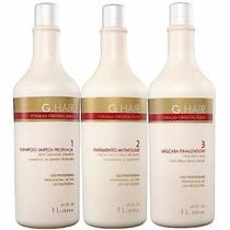 Inoar G-hair Escova Alemã Progressiva (3 X 1 Litro) + Brinde